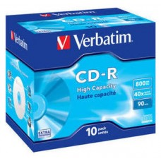 CD VERBATIM DATALIFE 800MB 10U
