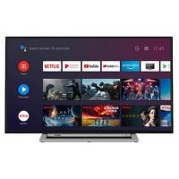 "TV TOSHIBA 43UA3A63DG 43"" UHD SMART ANDROIDTV WIFI USB HDMI GOOGLE ASSISTA CHOM"