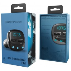 TRANSMISOR ENERGY  FM CAR TRANSMITTER BLACK 448241
