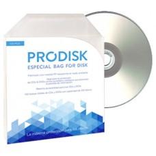 Sobres Plastico CD DVD (Pack 100unds) Prodisk