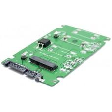 """Adaptador Convertidor PCBA Mini PCI-E SSD a SATA 2.5"""""""