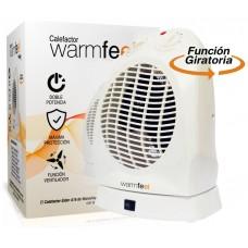 Calefactor con Giro Aire Caliente/Frio Eider A18 2000W WarmFeel