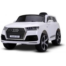 Coche Infantil Eléctrico Audi Q7 Blanco - REACONDICIONADO (Espera 2 dias)