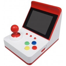 CONSOLA MINI RECREATIVA ARCADE RETRO 360 JUEGOS ROJO/BLANCO (Espera 2 dias)