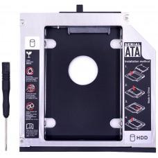 SATA Aluminio 3.0 HDD Caddy 12.7mm (Espera 2 dias)