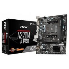 PB AMD SAM4 MSI A320M A PRO PRIME 2DDR4 PCIE SATA3