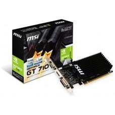 MSI nVidia N710-2GD3H LP - GT 710 - 2GB GDDR3 - DVI-D (Espera 3 dias)