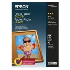 PAPEL EPSON FOTOGRAFICO A3 (20H) SATINADO 200GR