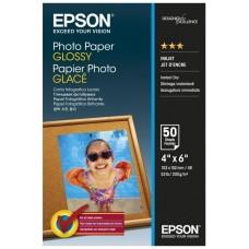 Epson Papel Foto Brillante 10x15 50 Hojas