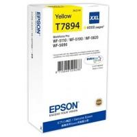 EPSON Cartucho Amarillo XXL 4000 paginas WorkForce Pro (Espera 3 dias)