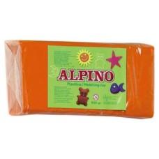 PLASTILINA ALPINO 150GRS NARANJ