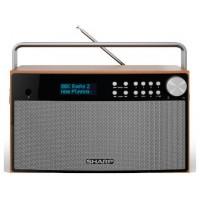 Sharp DR-P355 radio Portátil Digital Negro, Madera (Espera 4 dias)