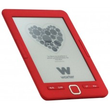 "Woxter Scriba 195 6"" 4GB Rojo lectore de e-book"