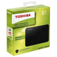 Toshiba Canvio Basics - Disco duro - 2 TB - externo -