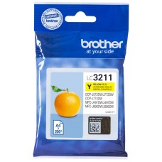 CARTUCHO BROTHER LC3211Y 200PG AMARILLO