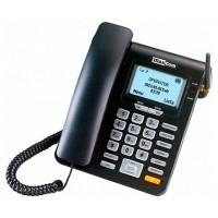 TELEFONO FIJO MAXCOM FIXED PHONE MM28D NEGRO