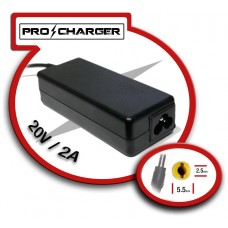 Carg. 20V/2A 5.5mm x 2.5mm 36w Pro Charger