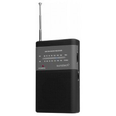 RADIO SUNSTECH PORTATIL RPS-42  ANALOGICO AM/FM NEGRO