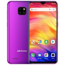 "Ulefone Note 7 15,5 cm (6.1"") SIM doble Android 8.1 3G MicroUSB 1 GB 16 GB 3500 mAh Púrpura (Espera 4 dias)"
