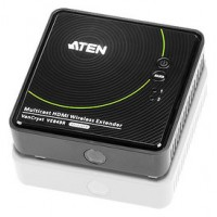 Aten VE849R extensor audio/video Receptor AV Negro (Espera 4 dias)