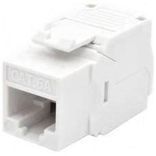 WP Keystone Cat. 6a UTP RJ45/Hembra Blanco