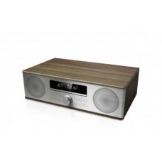 Sharp XL-B710 Microcadena de música para uso doméstico 30 W Marrón, Acero inoxidable, Madera (Espera 4 dias)
